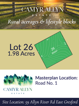 Lot 26 - Camyr Allyn Estate