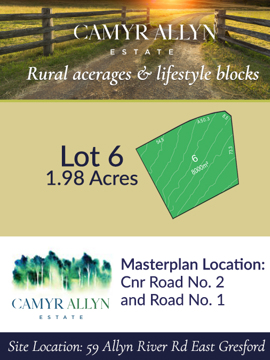 Lot 6 - Camyr Allyn Estate