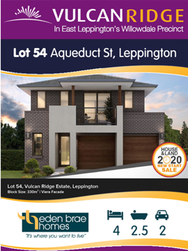 Lot 54 Aqueduct St *** UNDER OFFER ***