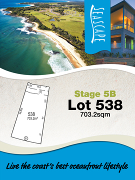 Lot 538 - Seascape Village